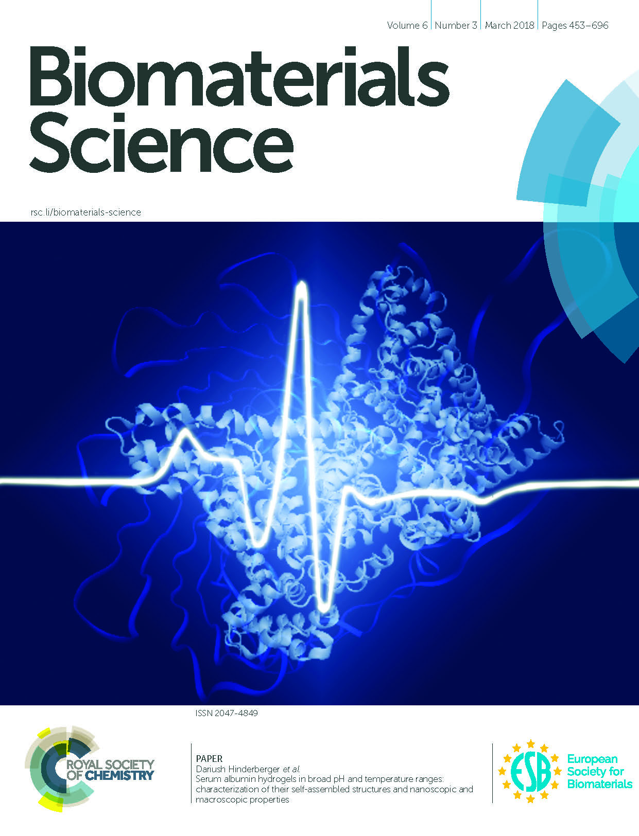 Frontcover Biomaterials Science